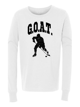 G.O.A.T Hockey Girls Boys  Long Sleeve