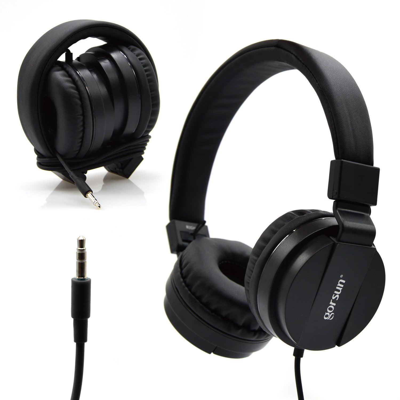 Bluelark Portable 3.5mm Foldable Over-Ear Headphone Heads...