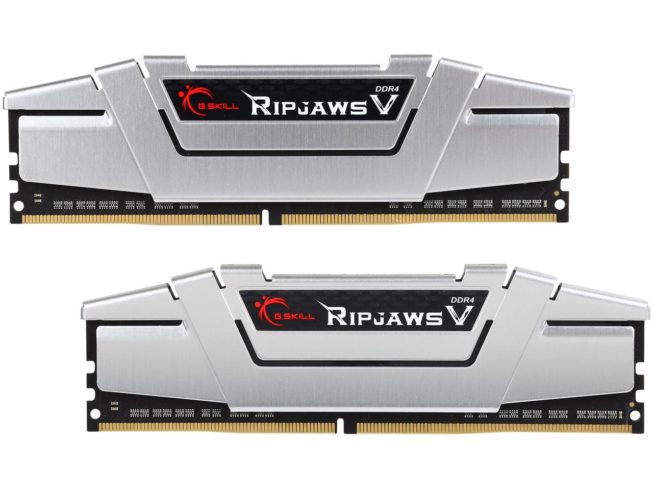 G.SKILL Ripjaws V Series 16GB (2 x 8GB) 288-Pin SDRAM DDR4 2800 (PC4 22400) Model F4-2800C15D-GVSB