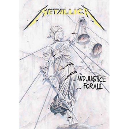 Metallica And Justice For All Tapestry Cloth Poster Flag Wall Banner 30