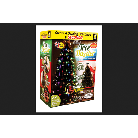 tree dazzler as seen on tvshark tank christmas led lights plastic