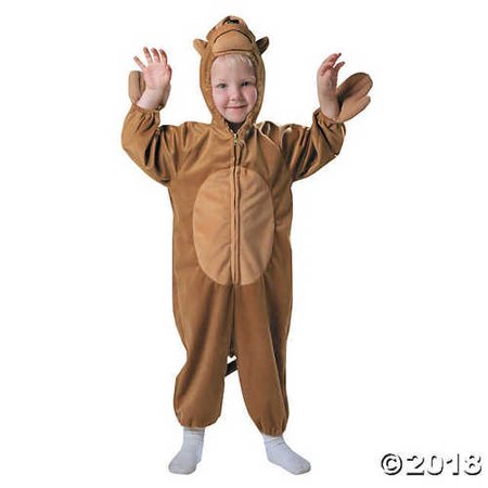 UHC Boy's Monkey Outfit Funny Theme Fancy Dress Toddler Halloween Costume, Toddler (1T-2T)