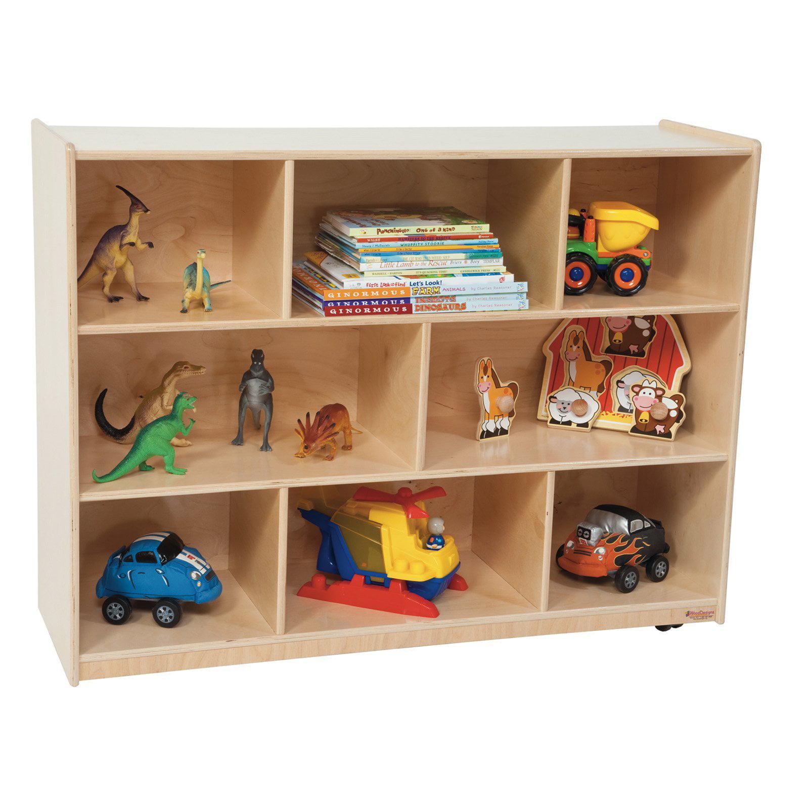 Wood Designs 36H in. Single Storage - Natural