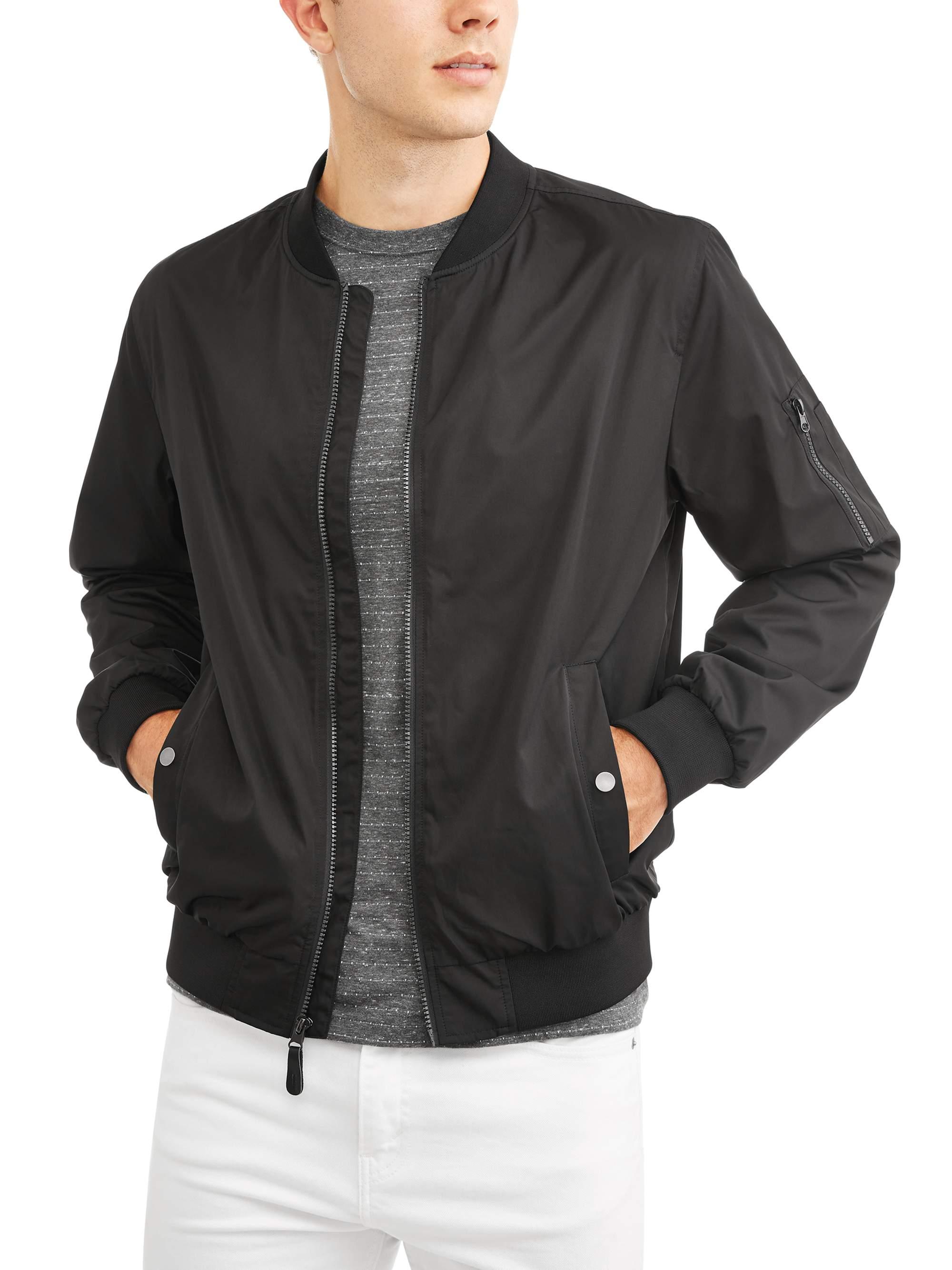 Men's Bomber Jacket, Up to Size 5XL