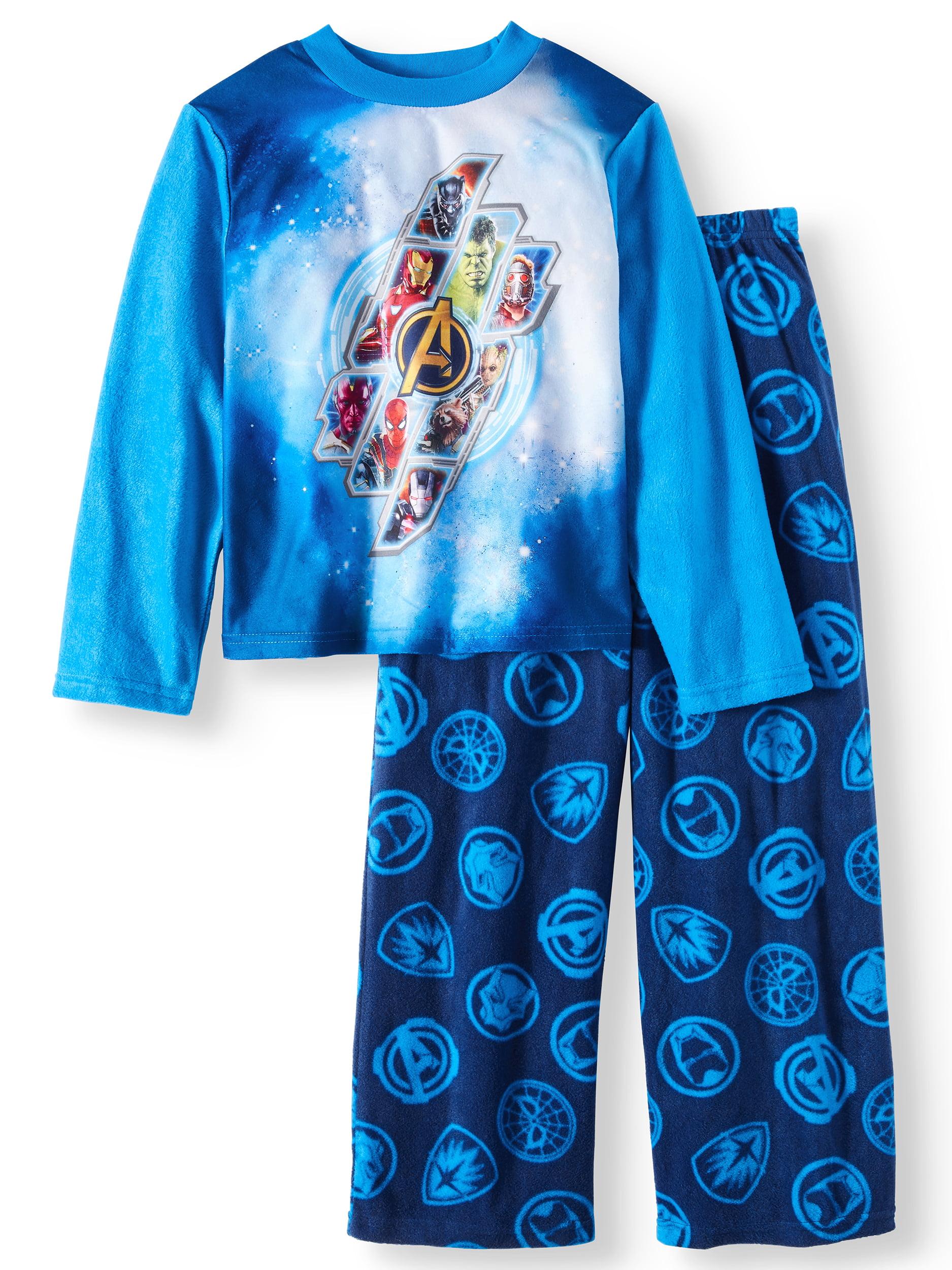 Boy's Avengers 2 Piece Long Sleeve Pajama Sleep Set (Big Boys & Little Boys)