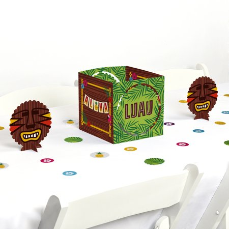 Tiki Luau - Tropical Hawaiian Summer Party Centerpiece & Table Decoration - Hawaiian Centerpieces