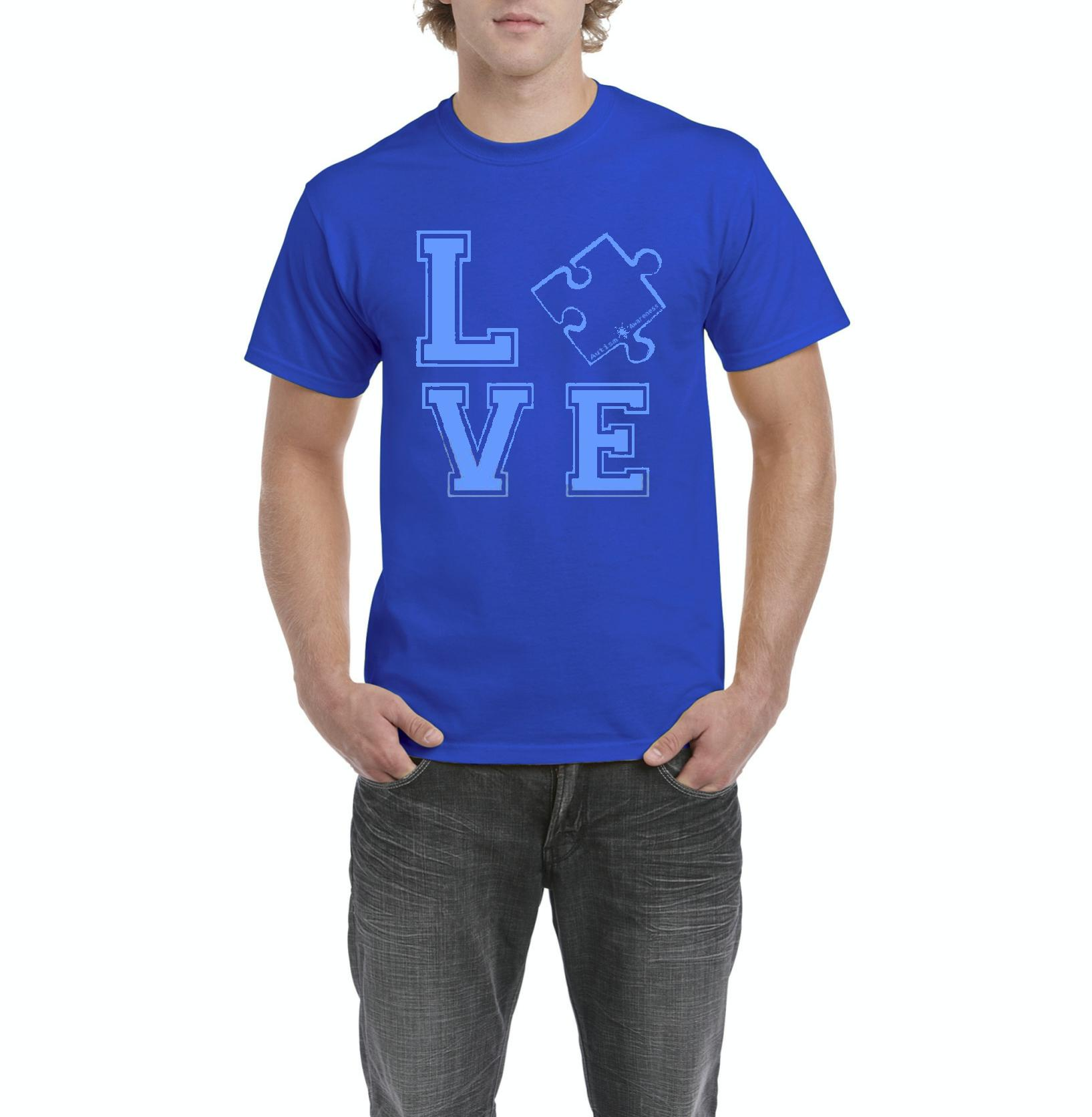 Loved One Autism Awareness Match w Autism Products Style w Hats Bags Pants Jeans Mens Shirts