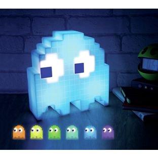 Wonderful Pac Man Ghost Light USB Powered Multi Colored Lamp