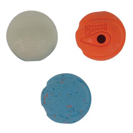 Chuckit! Fetch Medley Dog balls, 3-Pk ,Small ()