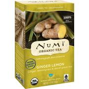 Numi Organic Tea, Ginger Lemon, Tea Bags, 16 Ct