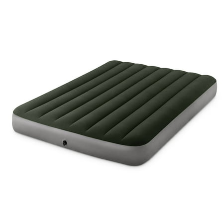 Intex 10  DuraBeam Expedition Airbed Mattress with Battery Pump Intex 10  DuraBeam Expedition Airbed Mattress with Battery Pump, Multiple Sizes
