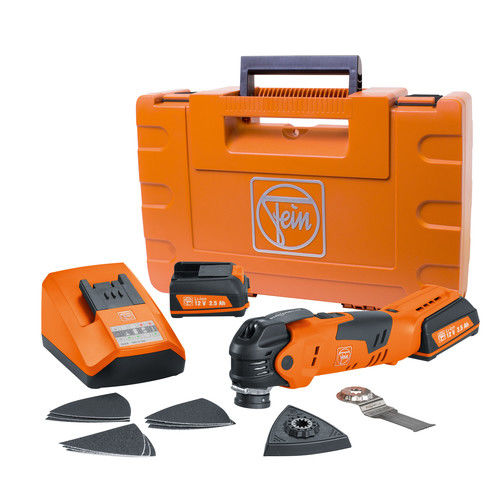 Fein 71292561090 MultiTalent 12V 2.5 Ah Cordless Lithium-Ion Oscillating MultiTool by Fein Power Tools