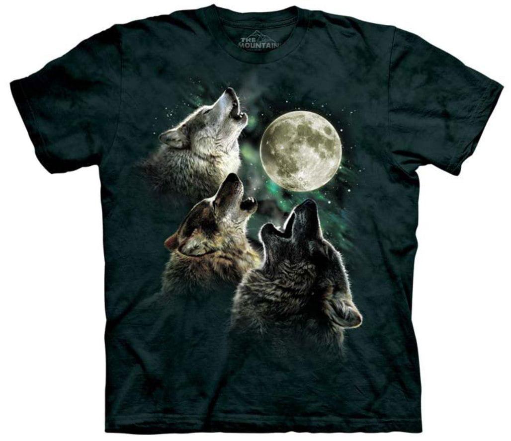 2df3c9faa33 The Mountain - Three Wolf Moon T-Shirt - Walmart.com
