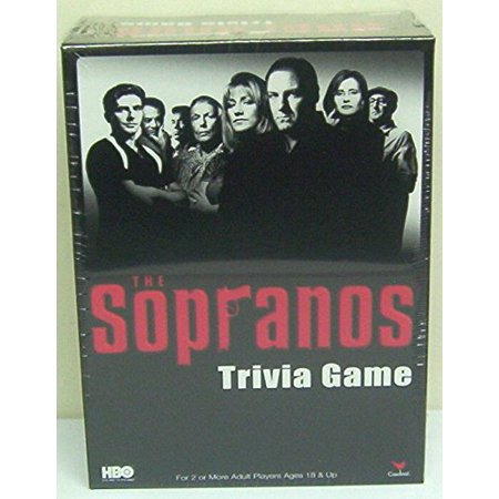 Cardinal Industries Sopranos Trivia in a Box Board