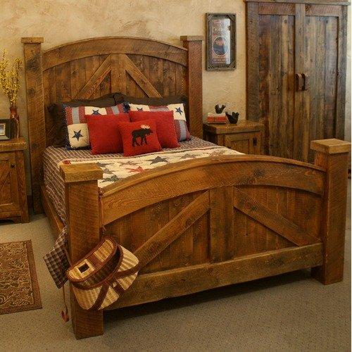 Timber Designs Alpine Heirloom Panel Bed