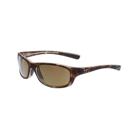 8e49f98c07 Maui Jim - Maui Jim Polarized Kipahulu H279-10MR Brown Rectangle Sunglasses  - Walmart.com