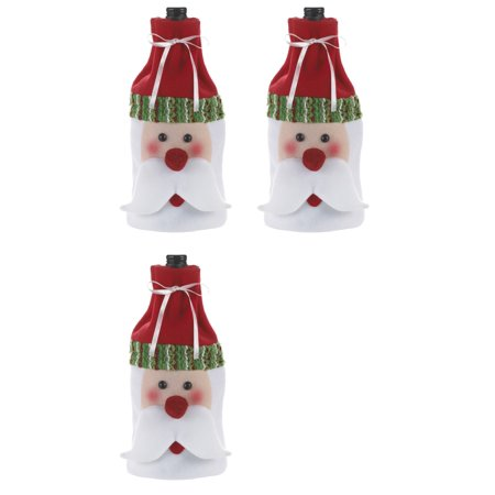 Green Gift Wine (Ganz Christmas Gifts Santa Wine Bottle Bag Green)