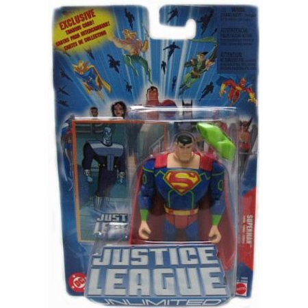 Unlimited Action Figure Superman  By Justice League