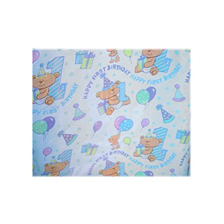 First Birthday Roll Of Gift Wrap 1 Pack