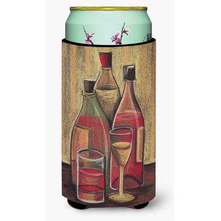 - Bottles and Glasses Wine Tall Boy Beverage Insulator Hugger BTBU0169TBC