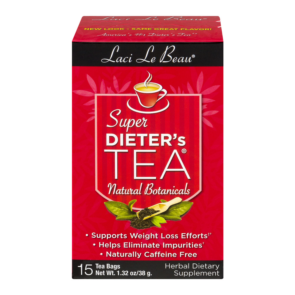 Laci Le Beau Super Dieter's Tea Herbal Dietary Supplement - 15 CT