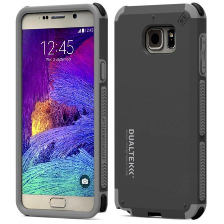 Puregear Matte Black Dualtek Extreme Rugged Case Cover For Samsung Galaxy Note 5