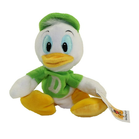 Disney Bean Bag Plush - DEWEY (Green Shirt - Walt Disney World Tag)(Donald's Ducks)(7 inch)