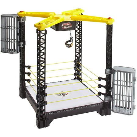 WWE Tough Talkers Championship Takedown Ring Playset (Wwe Ring Cake)