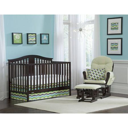 graco solano 4 in 1 convertible crib and bonus mattress multiple colors. Black Bedroom Furniture Sets. Home Design Ideas