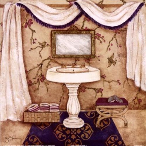 Purple Passion Sink I Poster Print by Tava Studios (12 x 12)