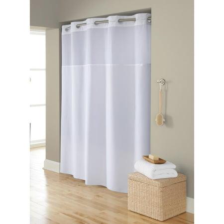 Swing A Way Hookless Shower Curtain