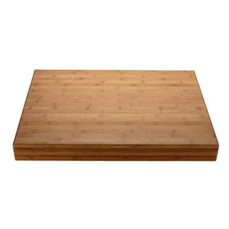Miu France 90031 Flat Grain Bamboo Cutting Board 18 Inch X 24 2