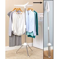 Bigbolo Foldable Clothes Laundry Drying Rack Dryer Hanger Stand Hang and Dry Small Space