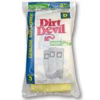 Dirt Devil 3-670075-001 Microfresh Type D Vacuum Cleaner Bag
