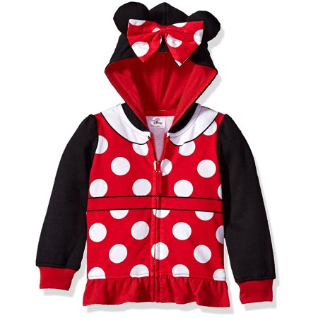 Minnie Mouse 3D Costume Hoodie (Little Girls & Big - Minnie Mouse Centerpieces