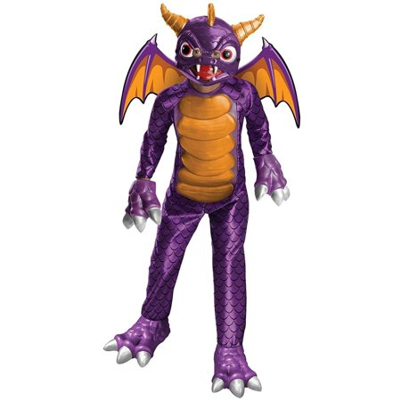 Skylanders Academy Boys Spyro Childs Dragon Halloween Costume](Halloween Skylanders)