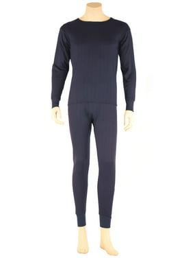 545c120f9c25 Product Image SLM ThermaTek Men's 100% Cotton Fleece Thermal Underwear Two  Piece Long Johns Set