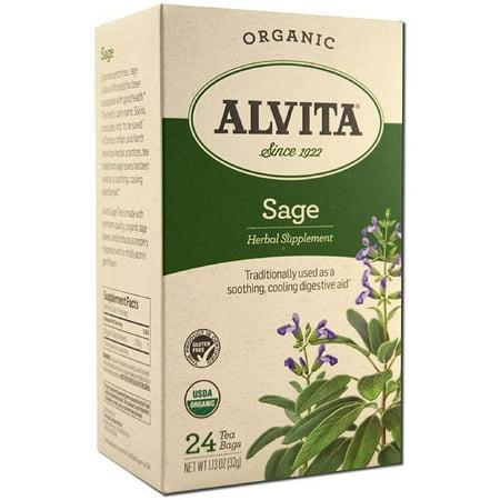 Alvita - Thé Sage bio - 24 sachets de thé