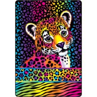 """Lisa Frank """"Wild About Hunter"""" 90"""" x 60"""" Twin Size Blanket"""