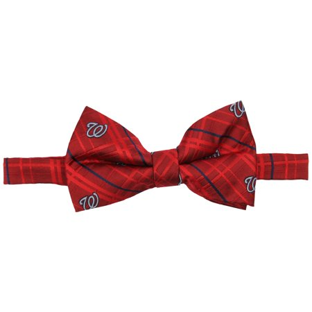 Washington Nationals Oxford Bow Tie - Red - No Size