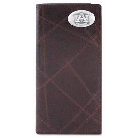 Auburn Wallet - Auburn Secretary Wrinkle Leather Wallet