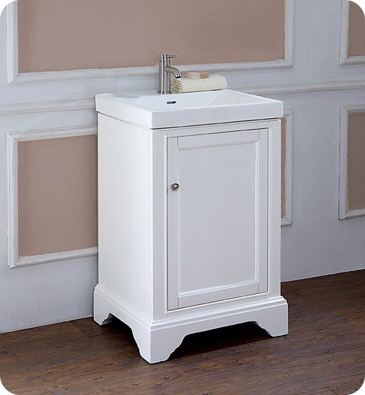 Fairmont Designs 1502 V2118 Framingham 21 X 18 Inch Vanity In Polar White Walmart Com Walmart Com