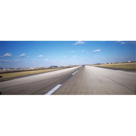 Runway at an airport  Philadelphia Airport  New York State  USA Poster Print by  - 36 x 12 - image 1 de 1