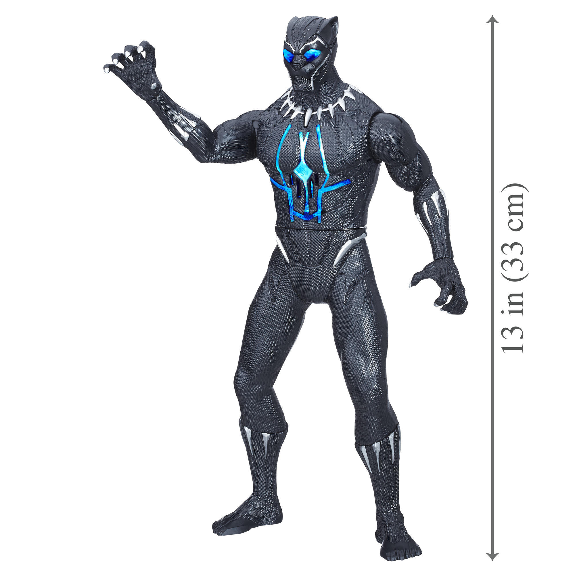 Toys Avengers Black Panther Slash Claw Marvel Movie Gifts for Kids Boys Girls 5+