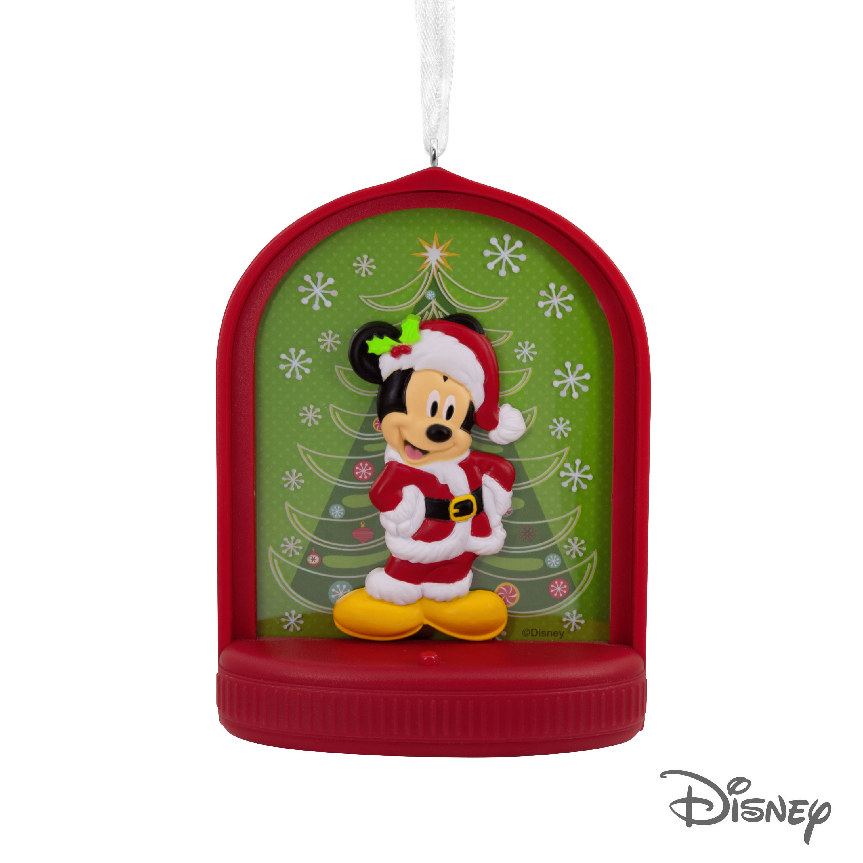 NWT Disney Mickey Mouse Christmas Holiday Light Up Figure Garden Statue Lamp