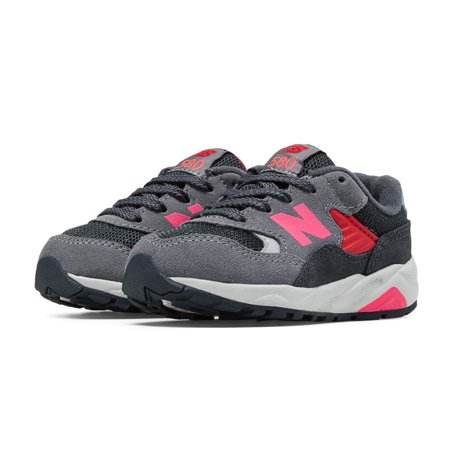 66b5792fba1f New Balance - New Balance KL580GOI NB 580 GREY Pink Casual Comfort Walking  Sneaker Toddler-Kid - Walmart.com