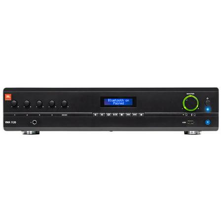 JBL VMA1120 Commercial/Restaurant 120W 70v Bluetooth Mixer/Amplifier, 5 Inputs