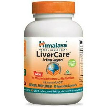 Himalaya LiverCare Vegetarian Capsules, 90 Ct