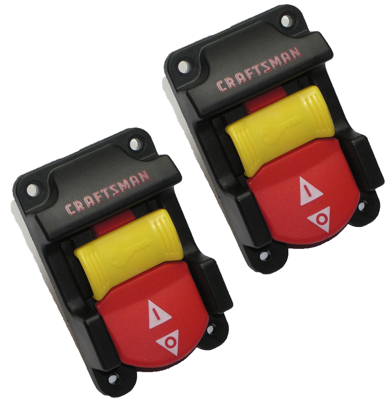 Craftsman 315218290 Table Saw Replacement 2 Pack Switch & key Set # 089110103701-2PK
