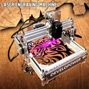 Mini 2000MW DIY Laser Engraving Laser Engraver Laser Cutter Printer Logo Mark 17x20cm Self-assembly